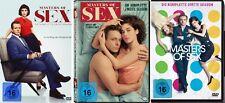 12 DVDs * MASTERS OF SEX - DIE KOMPLETTE STAFFEL 1 - 3 IM SET # NEU OVP <