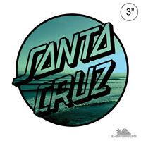 Santa Cruz Homebreak Dot Skateboard Sticker 3in