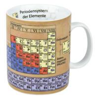 Könitz Wissensbecher Becher Chemie Kaffeebecher Teetasse Tasse, Porzellan 460 ml