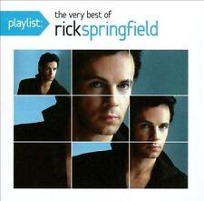 RICK SPRINGFIELD - Playlist : Le meilleur de - Album CD endommagé BOÎTIER
