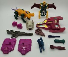 1987 Transformers G1 Terrorcons Abominus parts lot! 95% Complete! *Read*