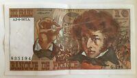 Billet De Banque 10 Francs Berlioz Du 2-6-1977 G.298 835194 1 Épinglage