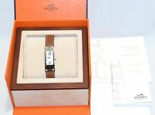 Hermes Kelly 2 Women's Wrist Watch 4P Diamond KT1.230 □Q Leather Band Bracelet