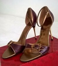 Women Stiletto Heels Guess by Marciano,  Size 10 M/41, Dark red snake, BNWT.   G