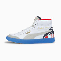 Puma Men's Ralph Sampson Mid 4th of July NEW AUTHENTIC White/Peacoat 374073 01