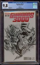 GUARDIANS 3000 #1 CGC 9.8 ALEX ROSS SKETCH VARIANT   COMIC KINGS