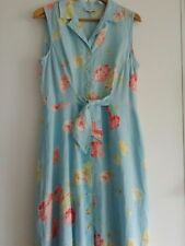 Gerard Darel linen Maxi Dress Size 46