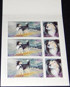 Faroe Islands 1994 Dogs, Sheepdogs, Complete 52Kr Booklet, MNH / UNM