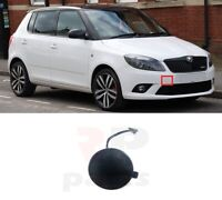 FOR SKODA FABIA 10-15, ROOMSTER 10-15 FRONT BUMPER TOW HOOK EYE COVER PRIMED