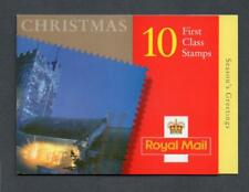 GB 2000 LX19 10 X FIRST CLASS CHRISTMAS BOOKLET