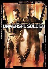 Universal Soldier (1992) Jean-Claude Van Damme, Dolph Lundgren DVD Special Edit