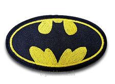 Comic Batman Bat Logo Iron / Sew On Patch Motif Badge *Buy 2 get 20% off* UK