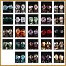 100/500pcs loose glass crystal bicone spacer beads 4mm Various colors to choose