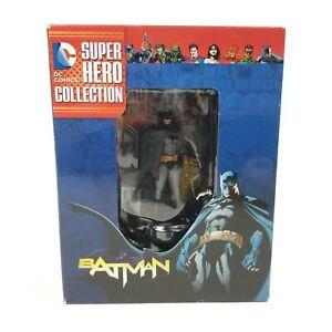 Eaglemoss Best of DC Comics Super Hero Figurine Collection #1 Batman & Magazine