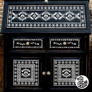 SATARA Indian Inlay Stencil set