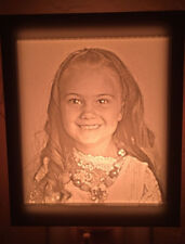 Custom Photo Night Light/Table Lamp, Lithophane, Personalized Picture, Memograph