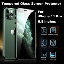 4D Full Coverage REAL Tempered Glass Screen Protector for iPhone 11 PRO CLEAR