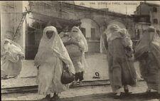Mauresques Native Muslims Arabs Costumes Ethonography c1910 Postcard