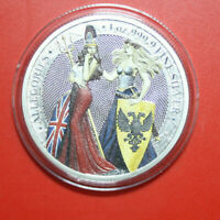 "Germania Mint 5 Mark 2019 "" Allegories of Britannia & Germania"" #F3603 nur 250"