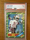 1986 Topps Football Jerry Rice Rookie #161 San Francisco 49ers PSA 7