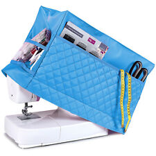 Sewing Machine Dust Cover for Most Standard Singer & Brother Machines (Blue)