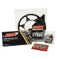 KTM 250 EXC-F 2007 - 2020 13T/50T RHK O-RING CHAIN & BLACK STEEL SPROCKET KIT