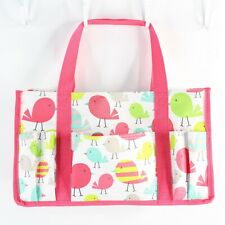 Thirty One Sweet Tweets Bird Keep It Caddy Mini Tote Bag Storage Organization