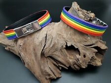 Jewellery Beads Rainbow Homosexua Strap up Gay Pride (Pul-01)