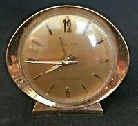 Vintage 1960's Westclox Baby Ben Wind Up Alarm Clock #53632 Gold