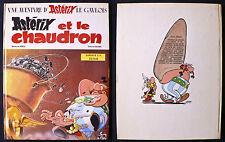 Astérix et le Chaudron - Goscinny & Uderzo - Eds. Dargaud - 1969 - EO