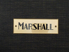 Marshall Plexi Black/Gold Logo 16 (152mm)
