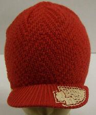 NFL Kansas City Chiefs Reebok Women's Visor Winter Knit Hat Beanie Cap OSFA NEW!