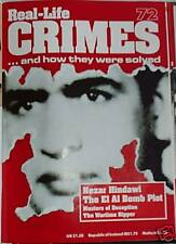 Real-Life Crimes 72 Nezar Hindawi, Gordon Cummins + more true crime magazine