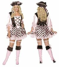 Sexy Pirate Lady Plus Size Fever Fancy Dress Costume 20-22 UK P6928 NEW