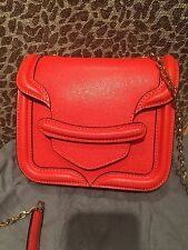 NWT Alexander McQueen Made In Italy Mini Leather Heroine Chain Crossbody  $1495