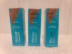 3-Thrive Causemetics ~ Headline Lipstick - Dem Shine .Aquila. NEW