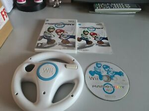 Mario Kart Wii With 1 Official Wii Wheel Nintendo Wii PAL
