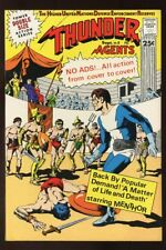 THUNDER AGENTS #18 VF/ NEAR MINT 1968 bin-2017-4035