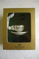 Wedgwood China Tea Cup Christmas Ornament New in Box