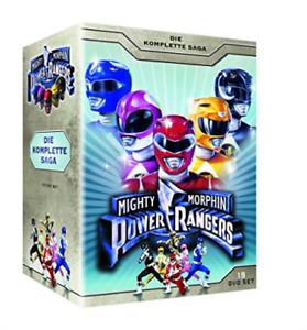 Power Rangers-Mighty Morphin (Die Komplette Serie) (19 Dvds) DVD NEW