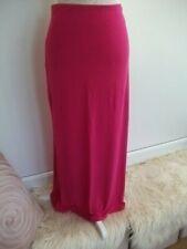 Ladies Pink Maxi Skirt Size 14