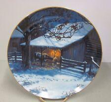 Lowell Davis Danbury Mint Birth of Blossom Plate #Ab7957 American Farm Collectn