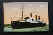 Marine Schiff AK Dampfer VATERLAND 1910-20 Linie Hamburg New York 7 Tage See ++