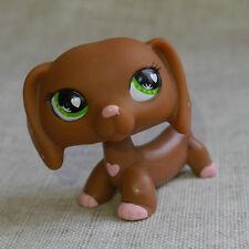 Littlest pet shop sweet Love Dachshund dog LPS #556 mini Action Figures