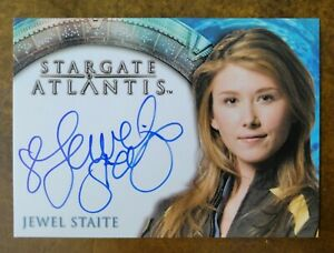 Stargate Atlantis Jewel Staite Autograph Auto