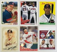 ⚾️HOF Jim Thome 6-CARD LOT with ROOKIE 1991 Upper Deck Final Edition 17F, NM-MT+