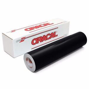 "Oracal 651 12"" X 10yd (30feet) Black Glossy Craft Graphics & Hobby Cutting Vinyl"