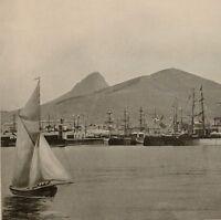1899 Aufdruck Colonial South Afrika Alfred Docks Umhang Stadt Mail Dämpfer Hafen
