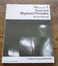 Jazz Improvisation 1 Tonal and Rhythmic Principles by John Mehegan vintage