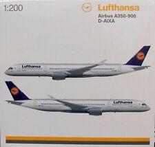 HE557801 Herpa Wings Lufthansa A350XWB 1:200 Model Airplane